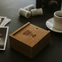 wooden usb box
