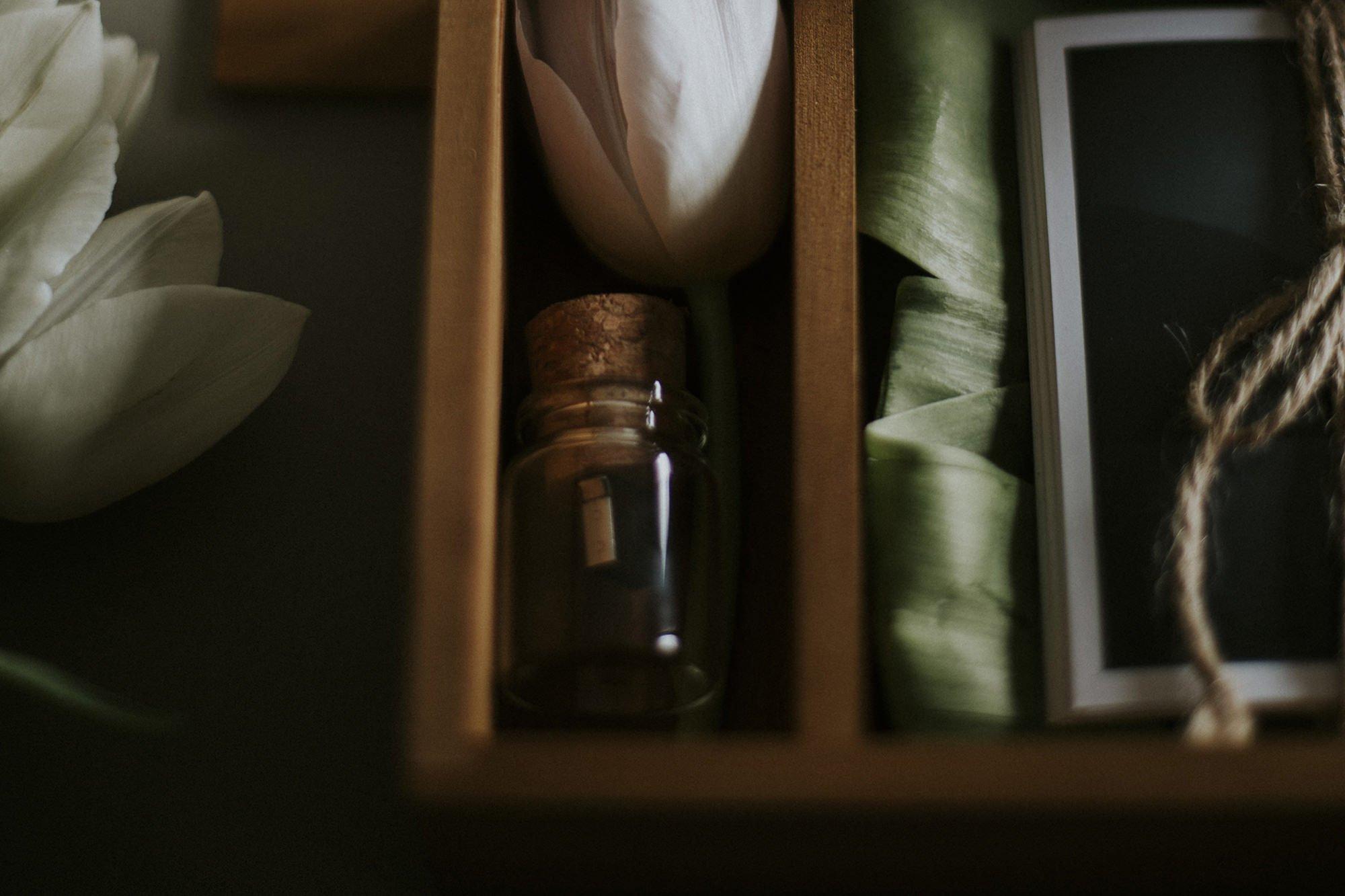 glass bottle usb