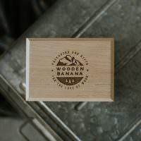 wooden usb case