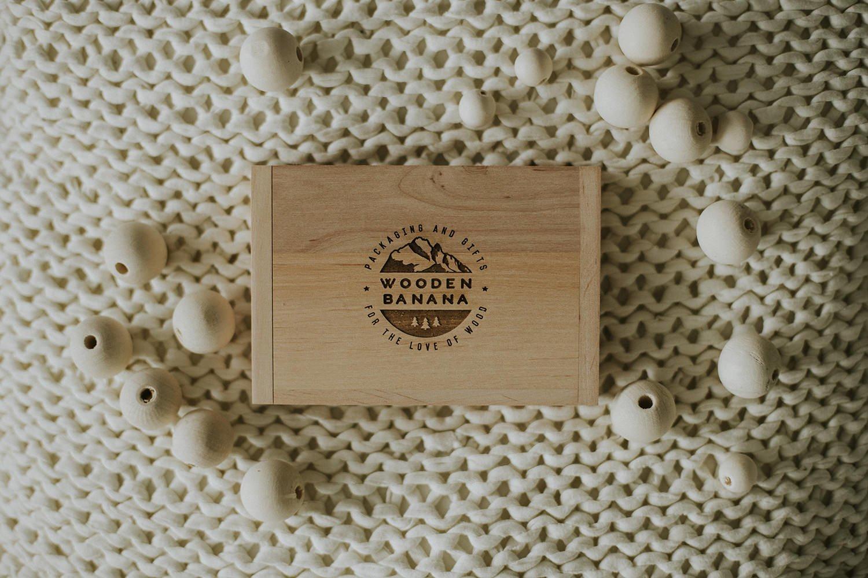 wooden usb box