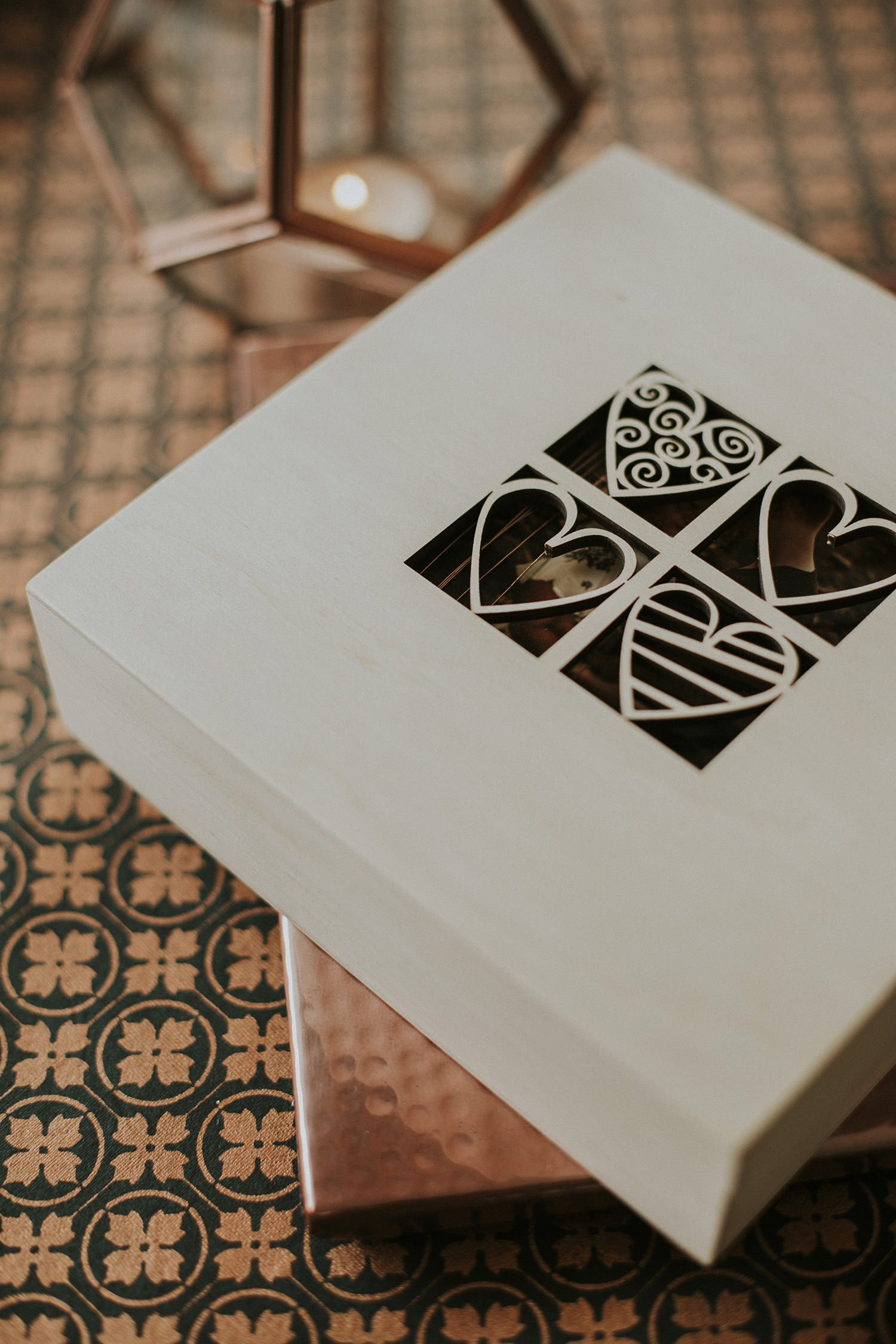 laser cut box for photographers