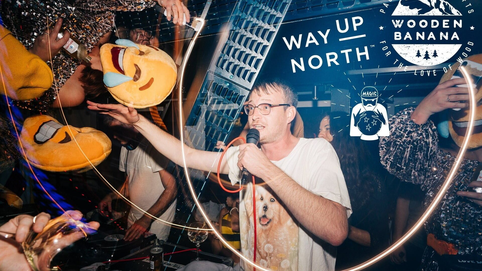 Way Up North Party in Stockholm. 4