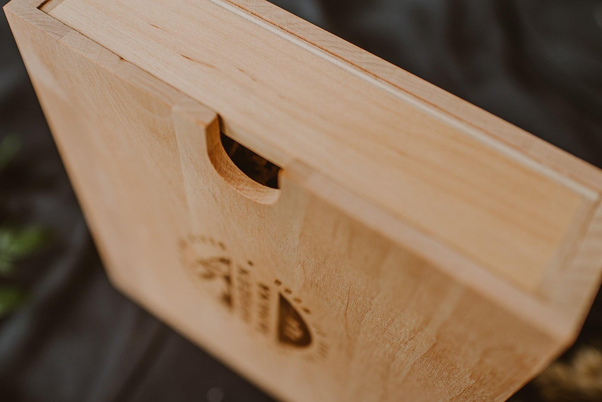 wooden drawer box