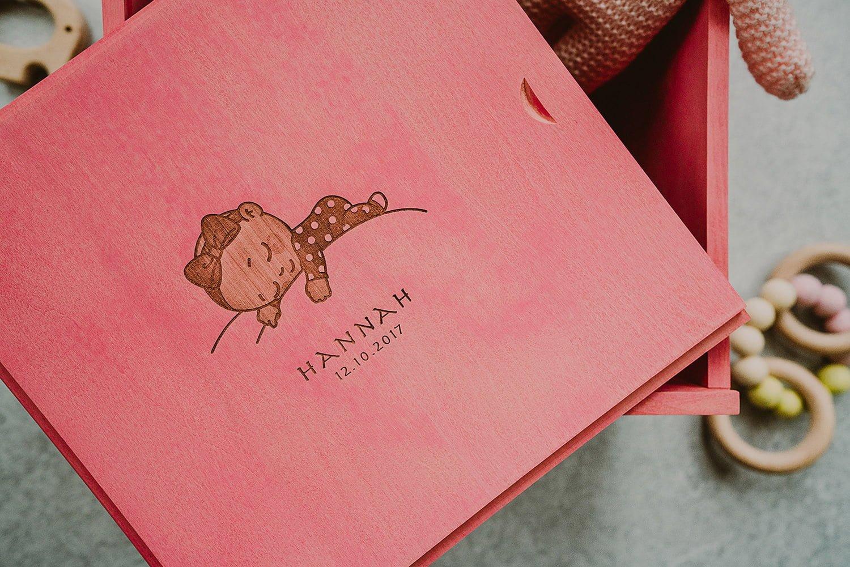 keepsake box for a newborn girl