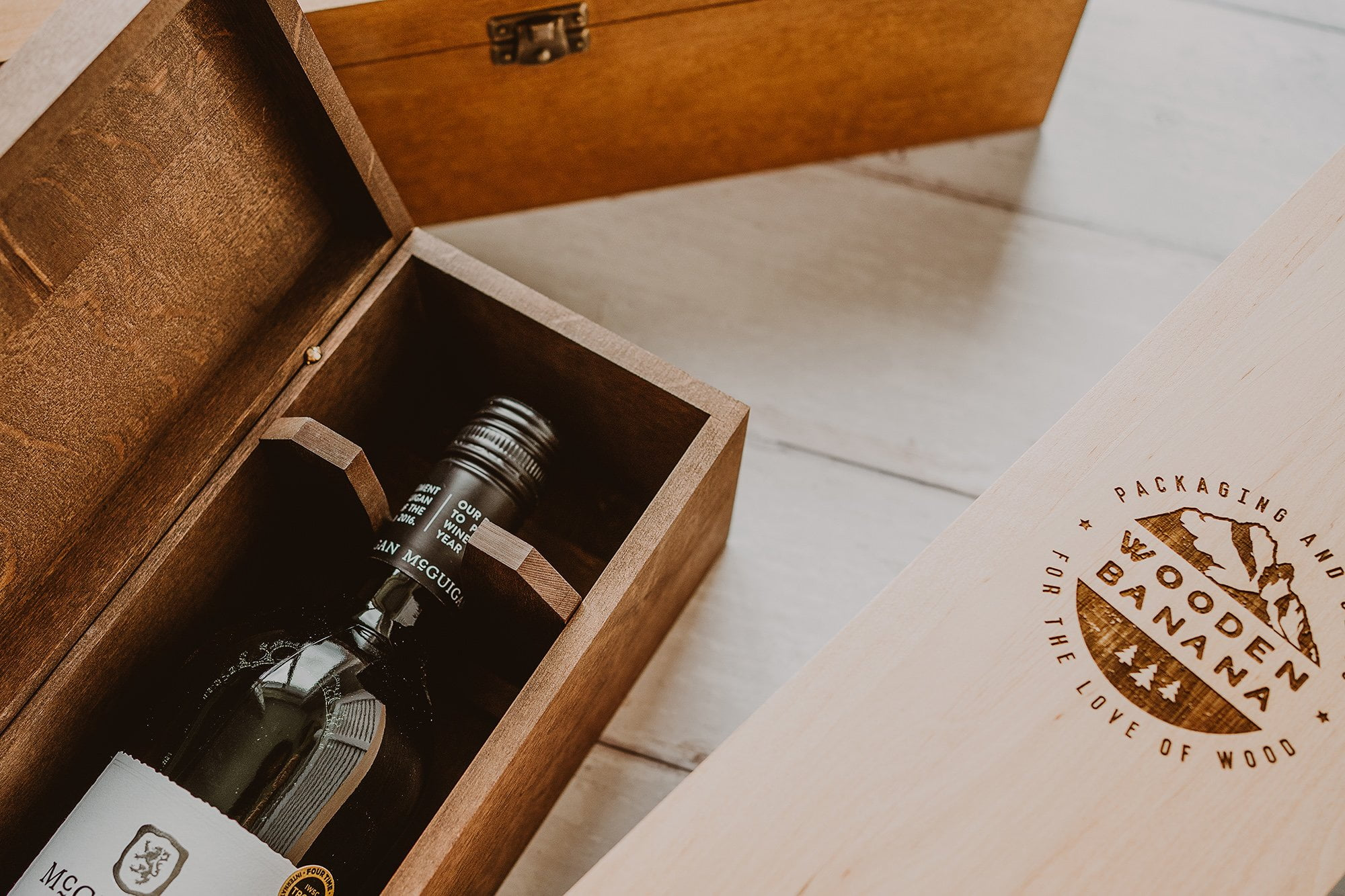 Personalised wine box 5