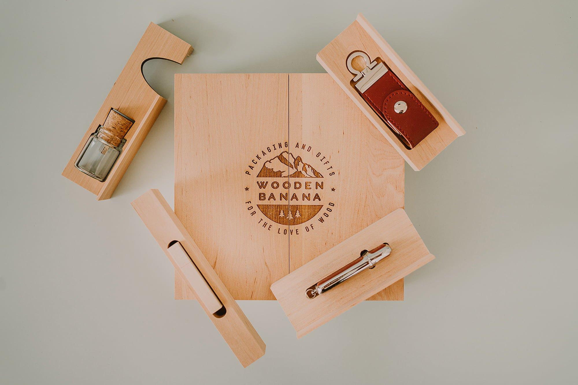 Sliding Wooden Box 1