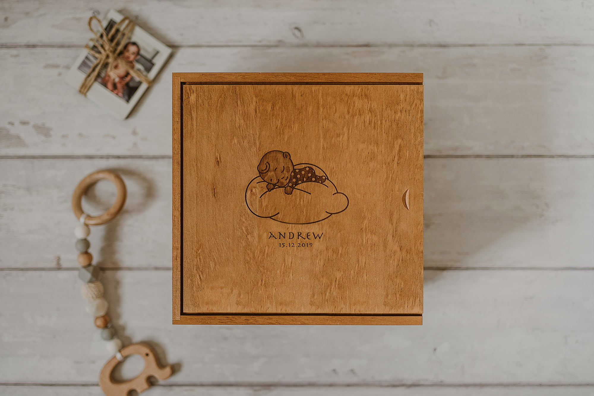 keepsake box for a newborn boy