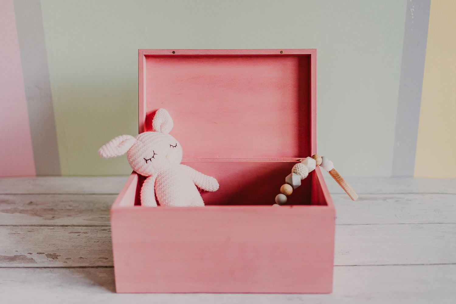personalised storage box for girls
