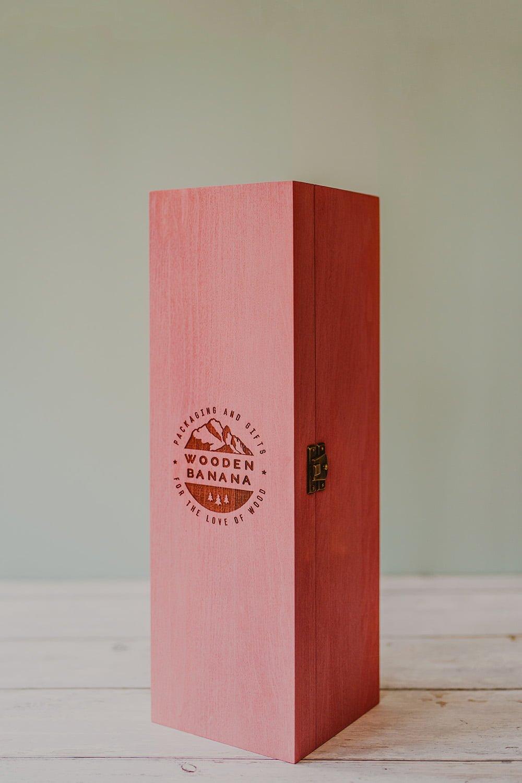 pink wine box