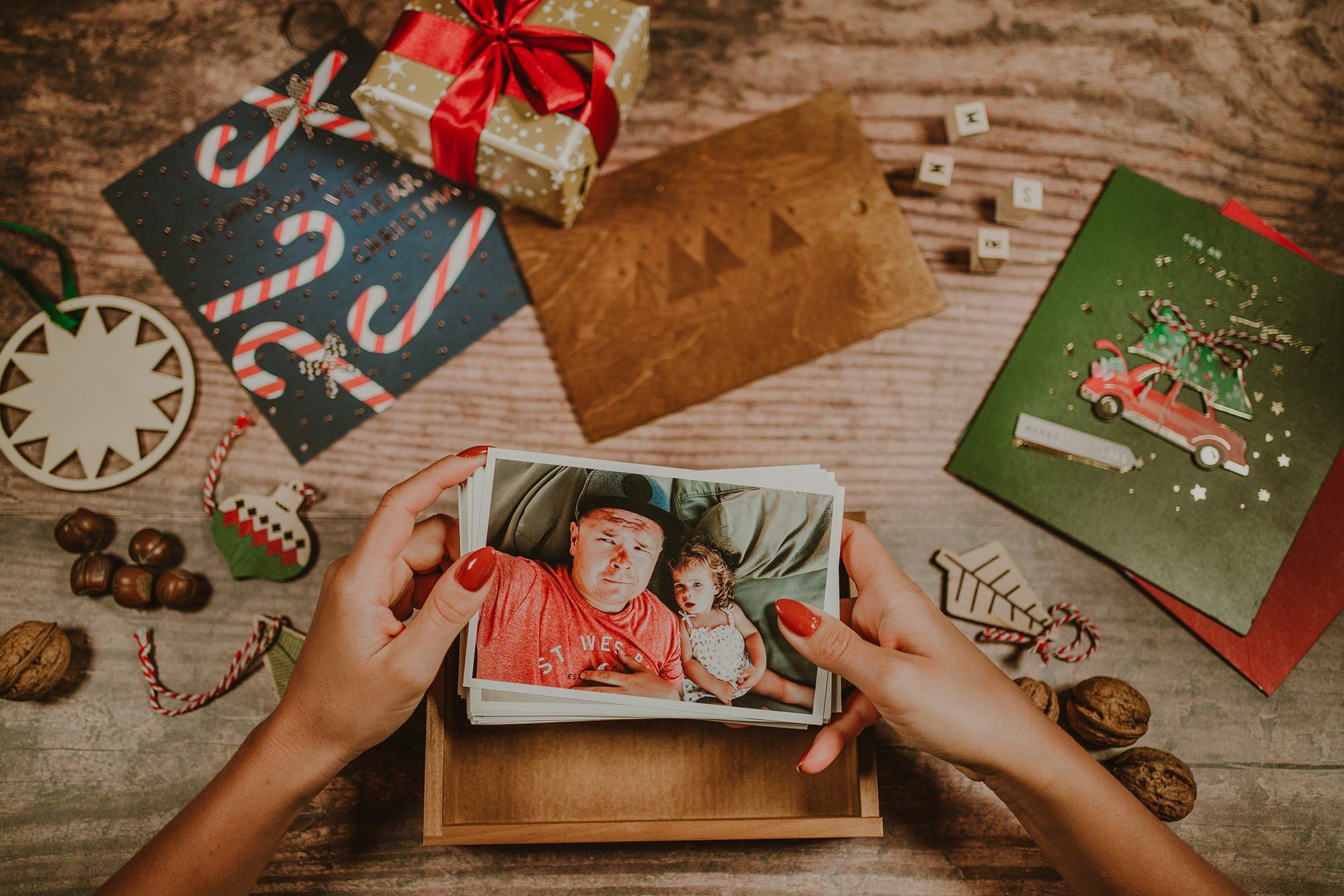 Family photo box 3
