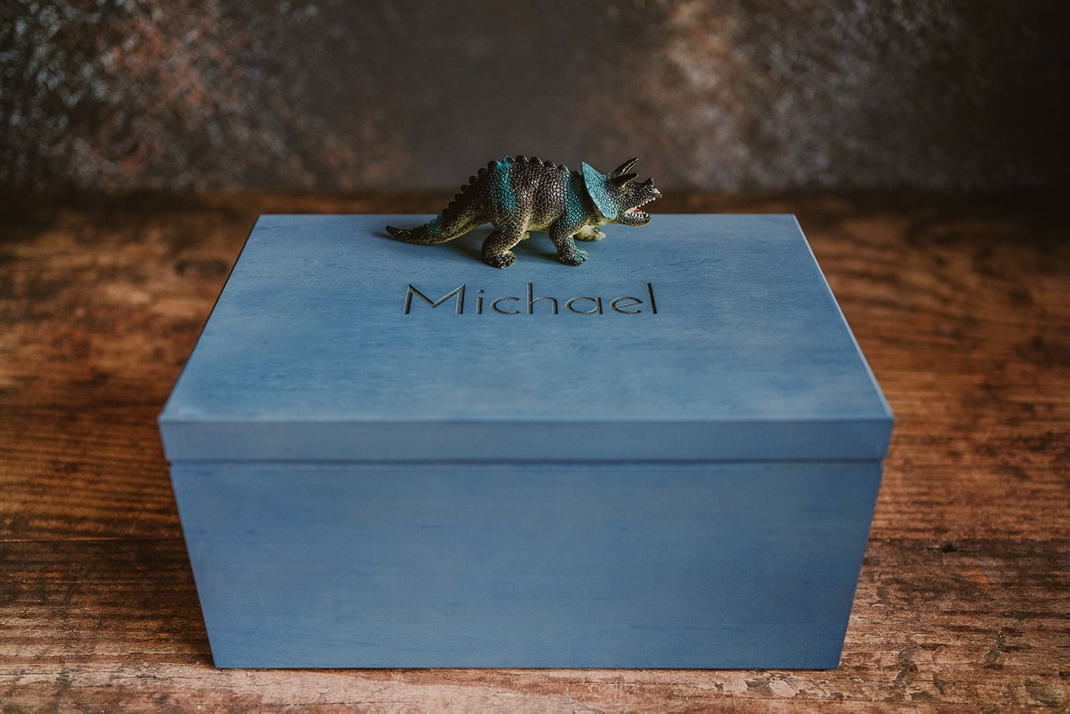 Personalised storage box for boys 4