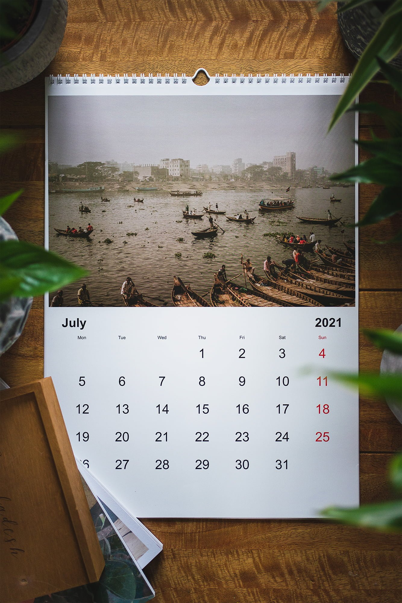 BANGLADESH CALENDAR FUNDRAISING 2