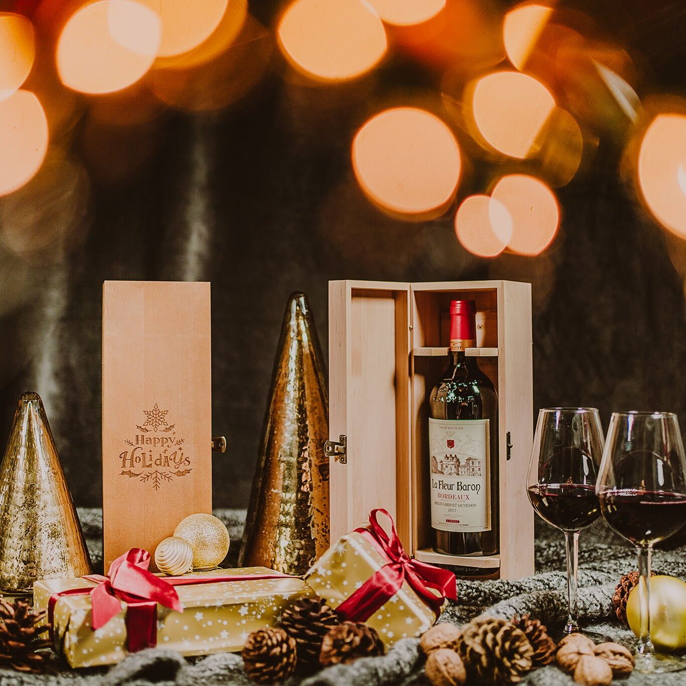 personalised wine boxes